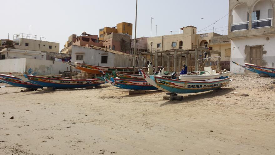 La pesca representa una de las principales oportunidades profesionales de las personas retornadas a Dakar. ©Manuel Sobrino/Red Acoge