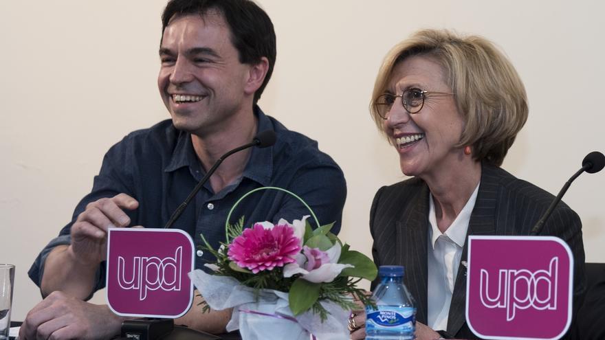 Rosa Díez, Herzog y Gorriarán anuncian su baja de UPyD pidiendo su disolución