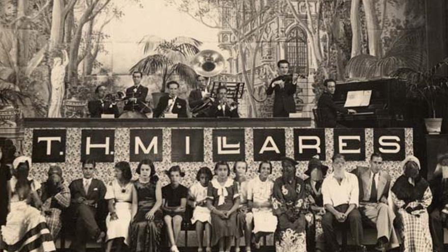Carnaval en el teatro cine Millares