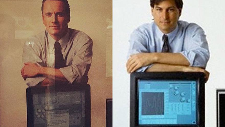 Michael Fassbender y Steve Jobs