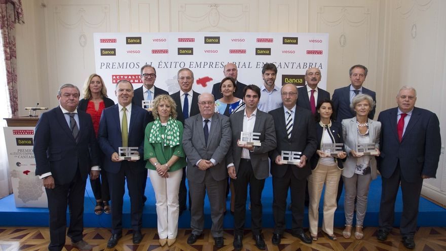 AMPL Lafuente, Centro Botín, Erzia, Vitrinor, Siderit y Grupo Vela, premios al éxito empresarial