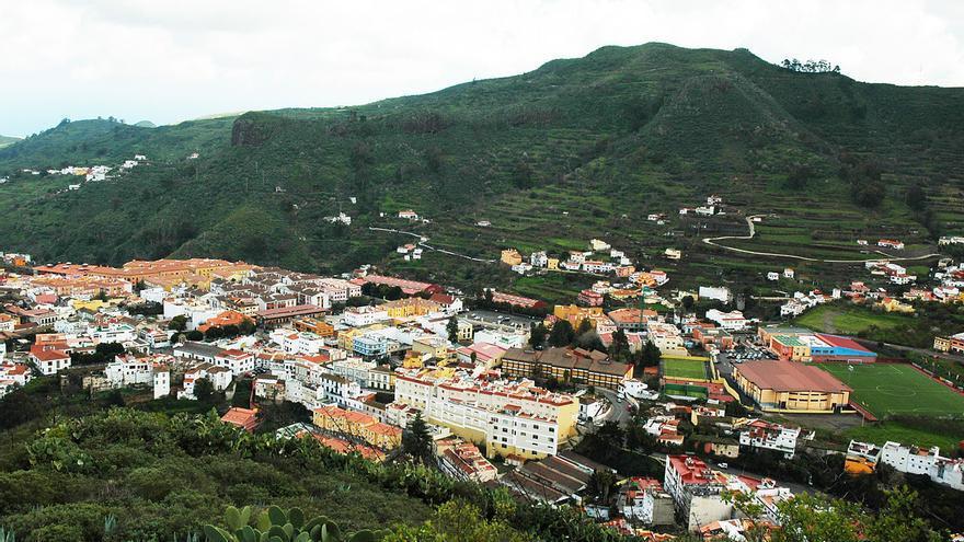 Vega de San Mateo desde Montaña Cabreja