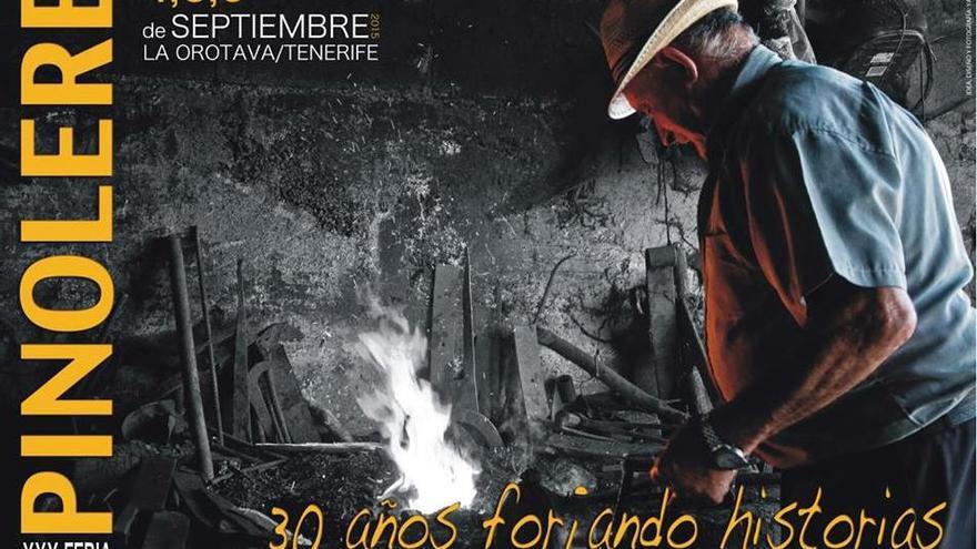 Cartel de la Feria de Pinolere de La Orotava