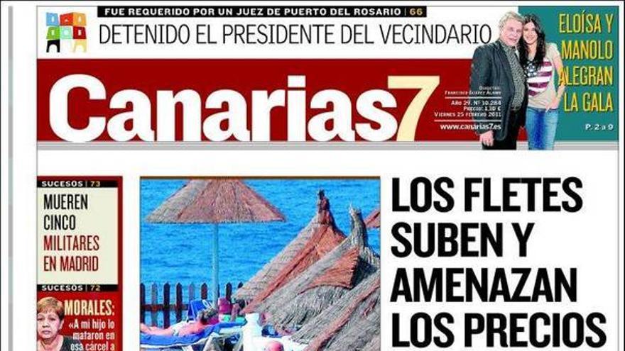 De las portadas del día (25/02/11) #2