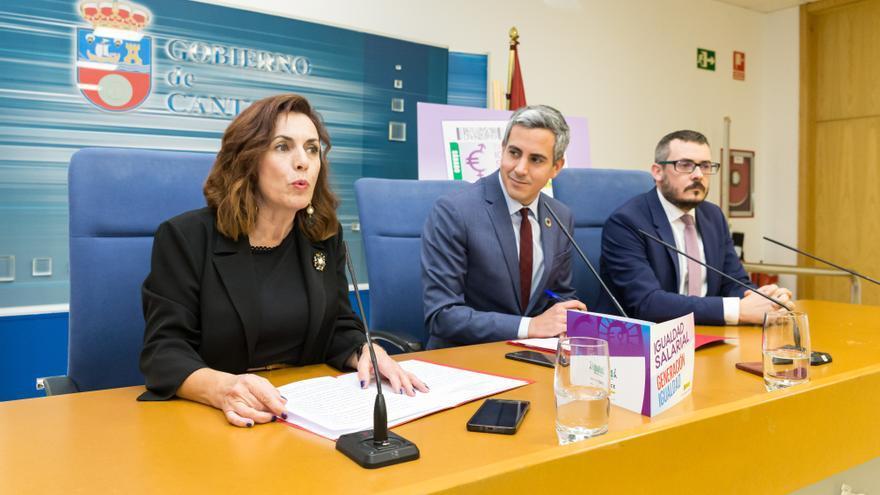 Presentación del cupón de la ONCE por el Día de la igualdad salarial entre hombres y mujeres.