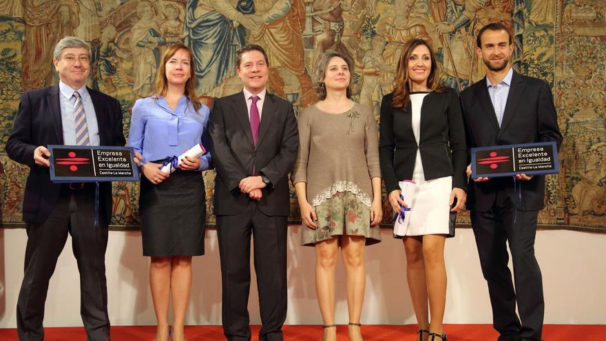 Acto de entrega del Distintivo de Excelencia en Igualdad, Conciliación y Responsabilidad Social Empresarial
