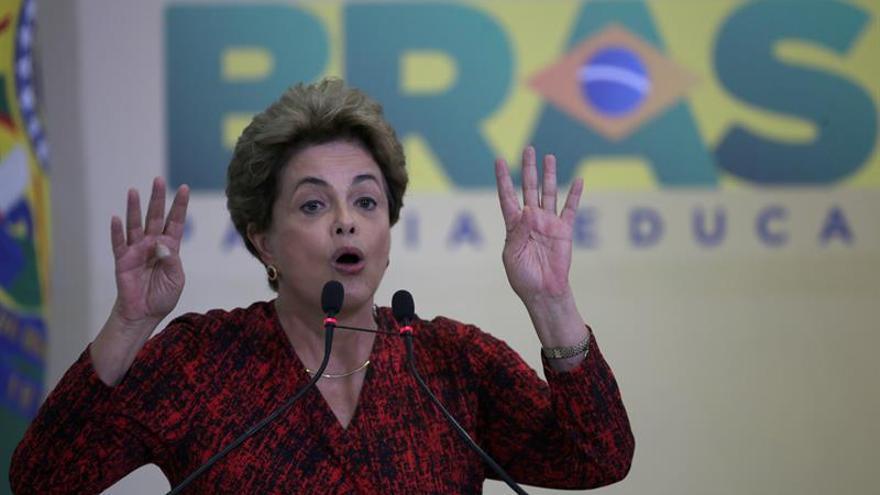 El Tribunal Supremo rechaza el último recurso de Rousseff contra el juicio político