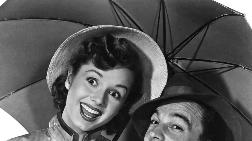Debbie Reynolds en 'Cantando bajo la lluvia'