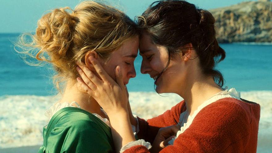 Adèle Haenel y Noémie Merlant son Héloïse y Marianne en 'Retrato de una mujer en llamas'