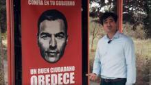 "Fotograma del ""experimento social contra Pedro Sánchez"" de Alvise Pérez"