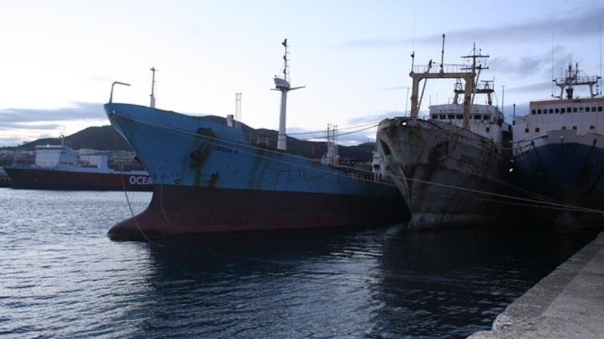 Del buque 'Iballa G' #1
