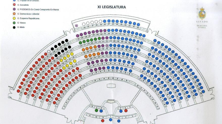 PSOE-Podemos-IU le hubieran quitado 15 senadores al PP entre la Comunidad Valenciana, Aragón y Baleares el 20D
