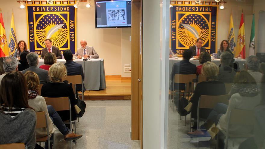 Presentación del estudio en la Universidad Pablo de Olavide.