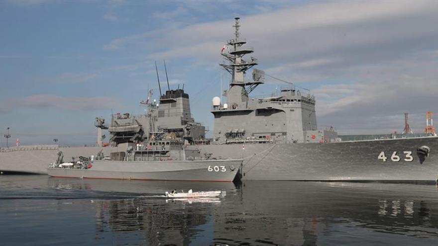 Japón realizará maniobras junto a EE.UU. e India en el Mar de China Oriental