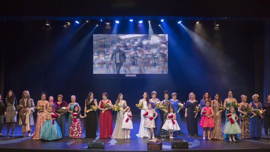 Presentación de todas las candidatas del Carnaval del sur este jueves, en Los Cristianos (Arona)