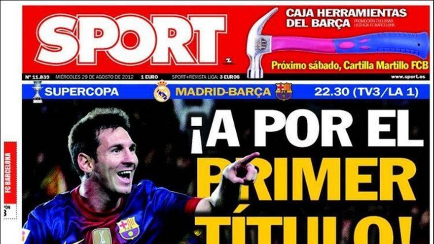 De las portadas del día (29/08/2012) #15