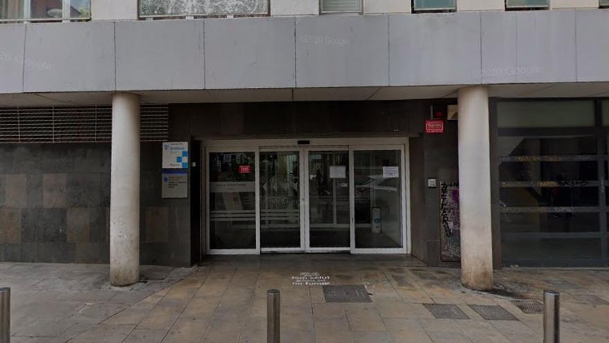 Entrada del CAP Gòtic de Barcelona