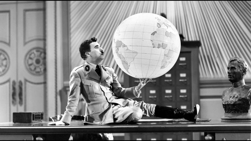 """""""El gran dictador"""" de Charlie Chaplin"""