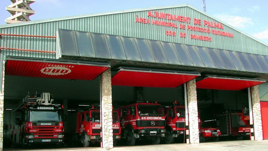 Imagen de archivo de la estación de bomberes de Palma, Polígon de Son Castelló, Palma de Mallorca.