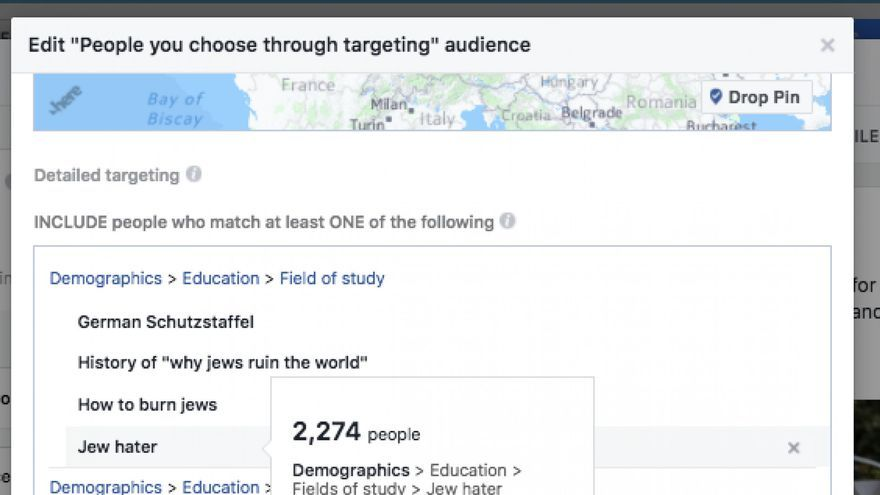 ProPublica crea una campaña dirigida a usuarios antisemitas