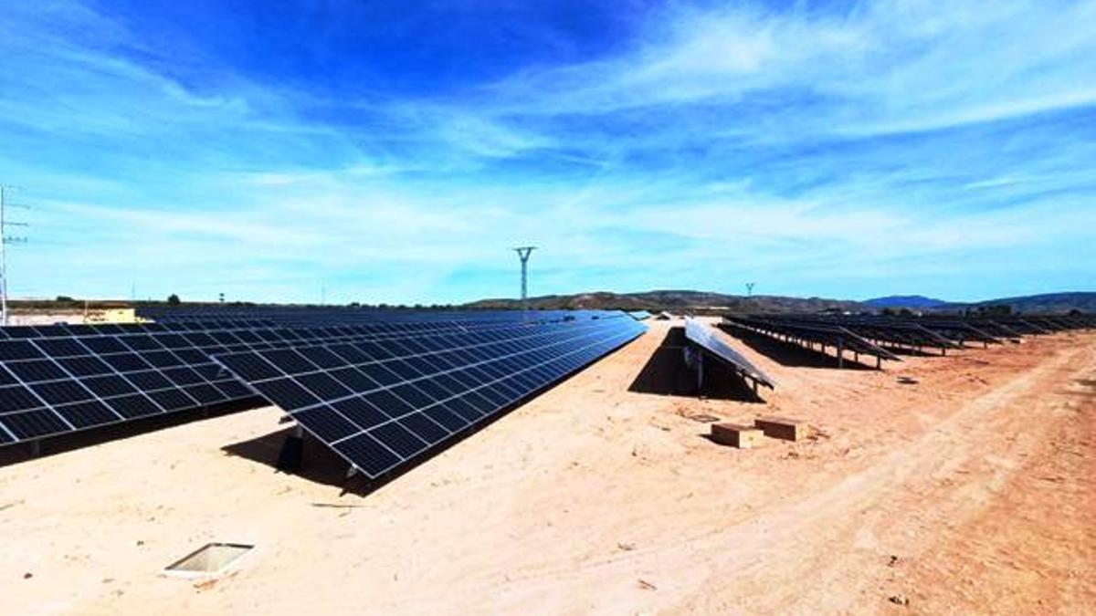 Construcción de un huerto solar en Caudete (Albacete)