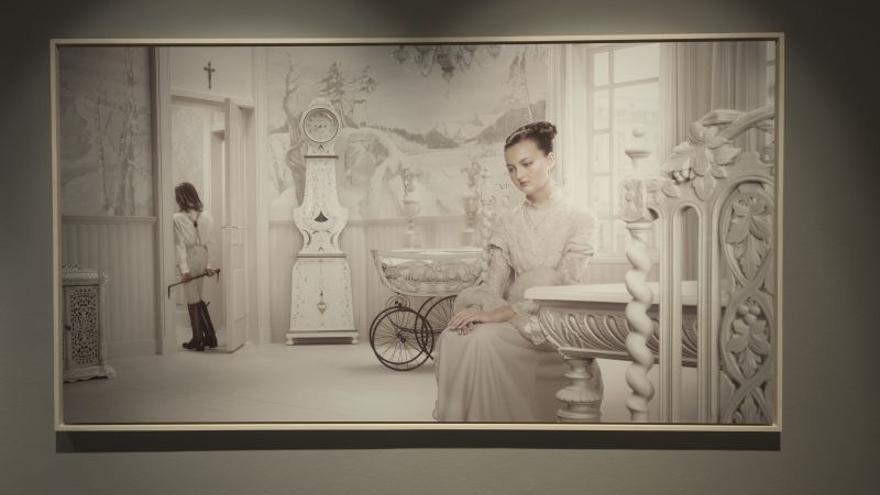 'Armonías en blanco y negro', un homenaje a la ausencia de color en el arte contemporáneo