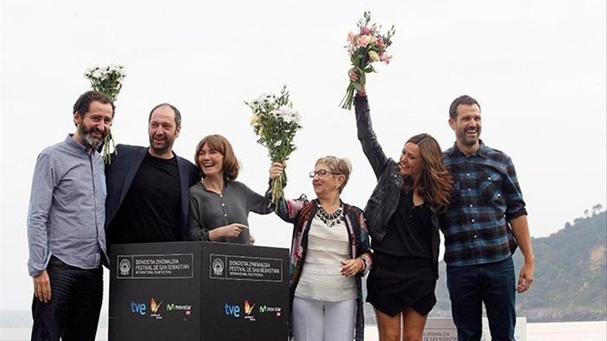 El Festival de San Sebastián felicita a 'Loreak', que compitió en la Sección Oficial de su 62 edición