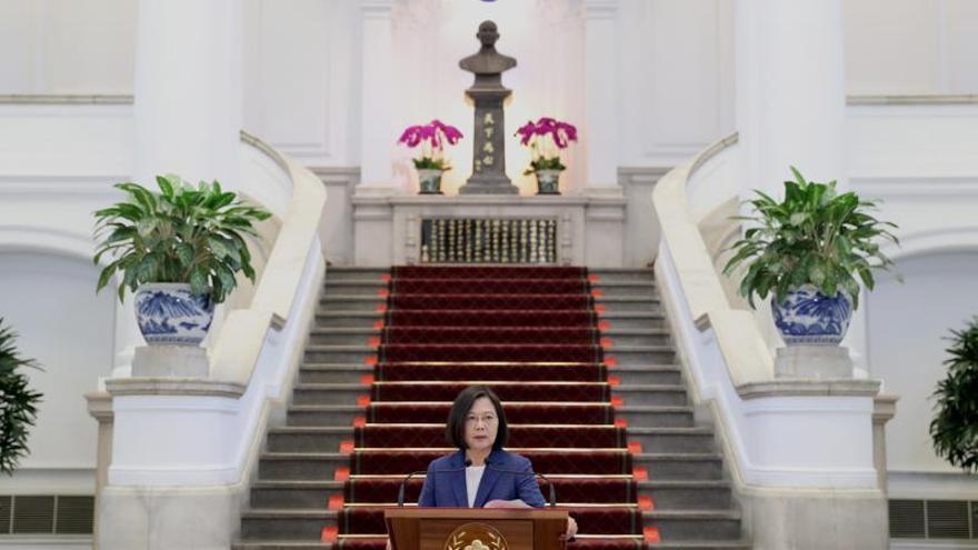 La presidenta taiwanesa gana las primarias y se presentará a la reelección