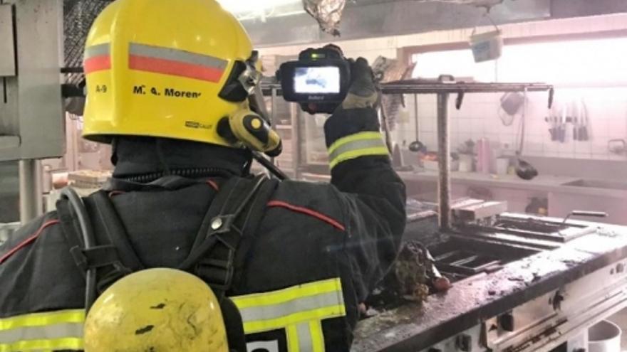 Incendio hotel Torremangana de Cuenca
