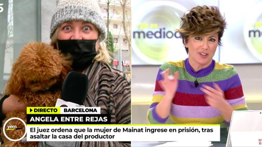 Mayka Navarro en 'Ya es mediodía' de Telecinco