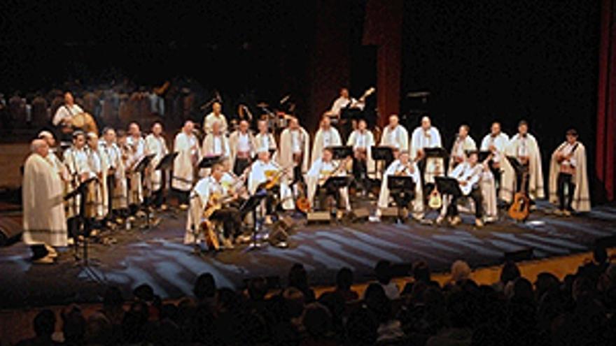 Los Sabandeños en el Auditorio. (ACFI PRESS)
