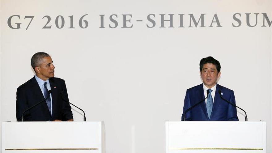 Los líderes del G7 encaran la primera jornada de la cumbre en Ise-Shima