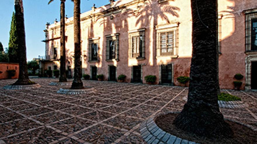 Patio de Armas en el Alcázar.