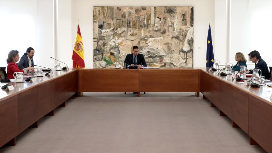 El presidente del Gobierno, Pedro Sánchez, preside la reunión del Comité Técnico de Gestión del COVID-19.