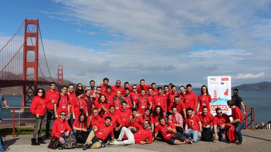 Los finalistas de la edición de YUZZ 2015 en San Francisco.
