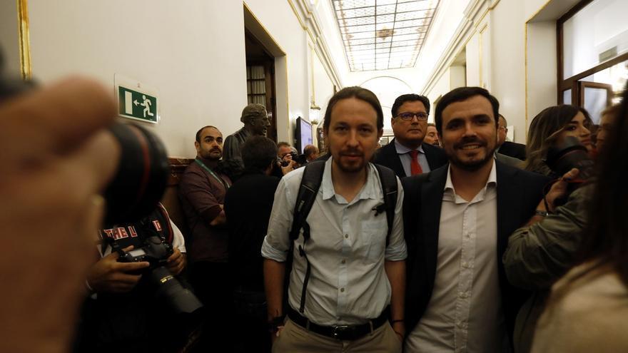 """Pablo Iglesias insiste en pedir al PSOE una reunión para hablar de la moción de censura: """"Dialogar nunca está de más"""""""