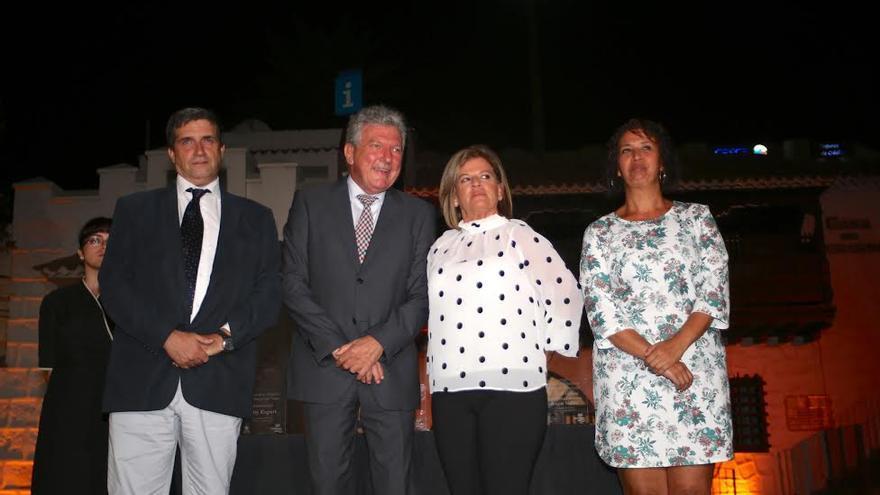 Javier Doreste, Pedro Quevedo, Inmaculada Medina y Mercedes Sanz. (ALEJANDRO RAMOS)