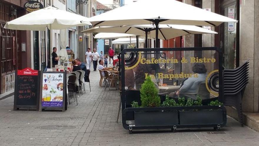 En la imagen, la calle Trasera de Santa Cruz de La Palma.