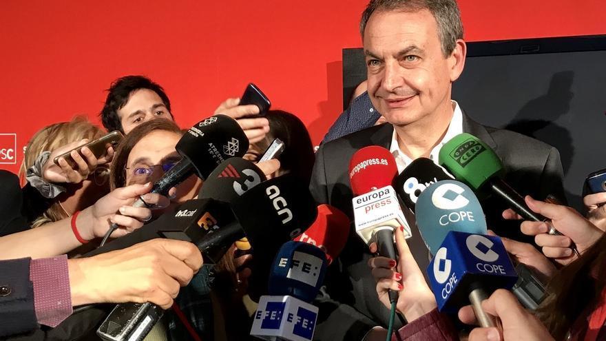 """Zapatero dice que un referéndum es el peor mecanismo porque divide """"apasionadamente"""""""