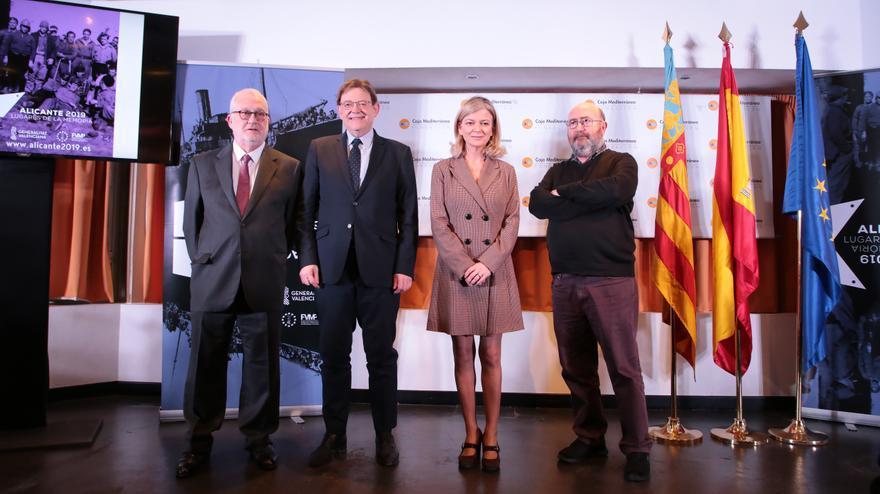 Ximo Puig hizo la presentación de la iniciativa en Alicante
