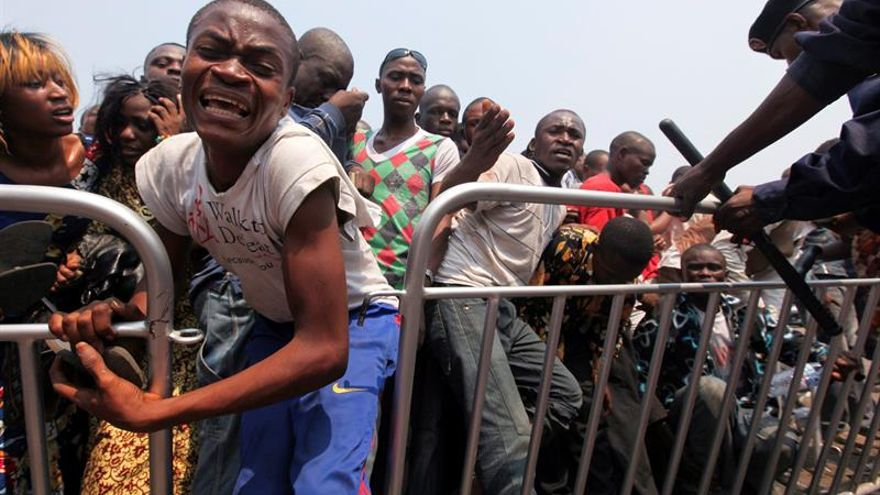 Choques entre policía y manifestantes en nueva jornada de protestas en la RDC