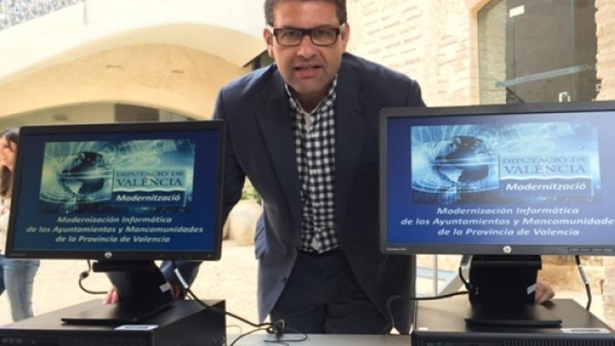 El edil popular y exalcalde de Chiva José Manuel Haro