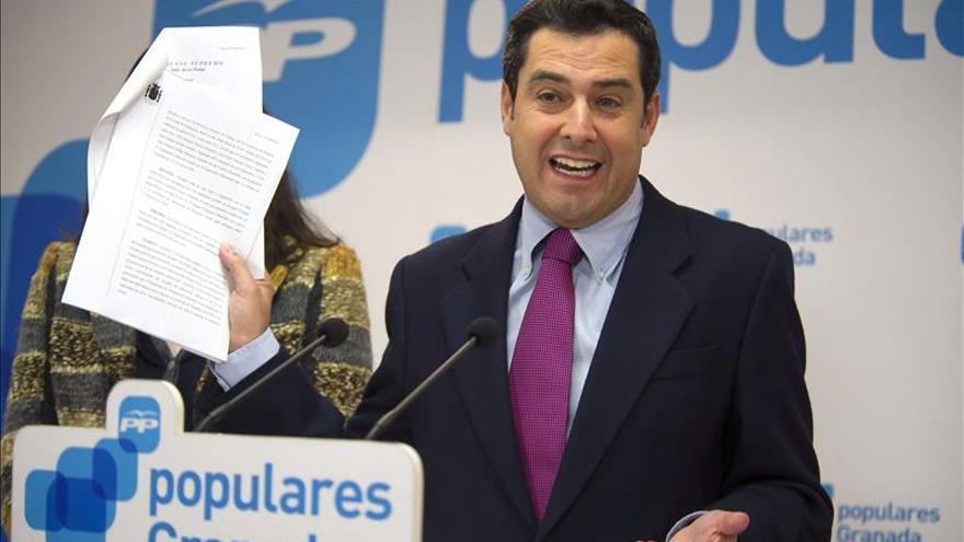 El PP pide a PSOE valentía y que actúe de forma inmediata contra Chaves y Griñán