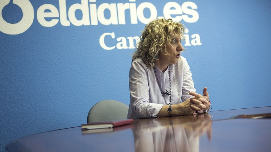 Eva Díaz Tezanos, secretaria general de los socialistas cántabros y vicepresidenta del Gobierno. | JOAQUÍN GÓMEZ SASTRE