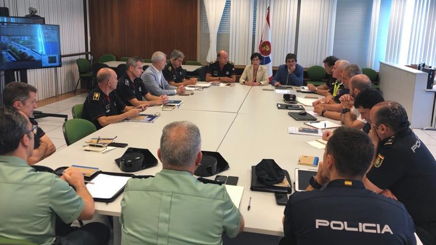 Mesa de seguimiento del operativo de seguridad ante la cumbre del G7