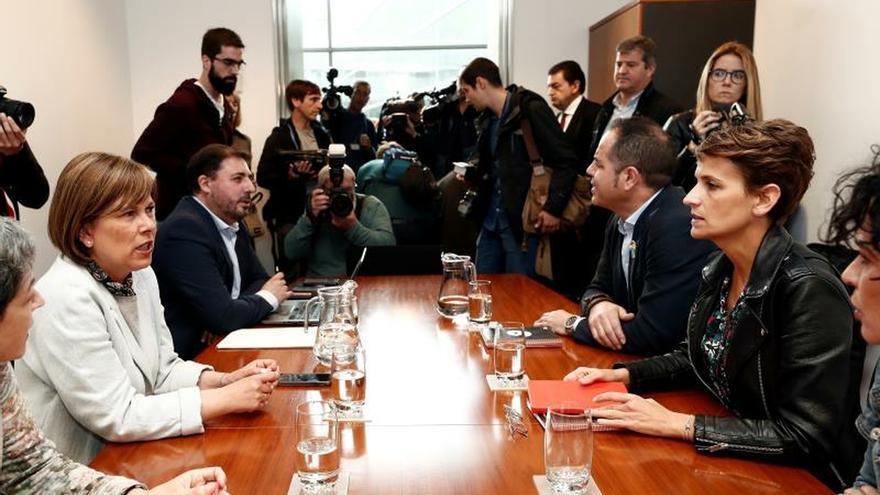 Chivite mantiene su objetivo de liderar un gobierno de progreso