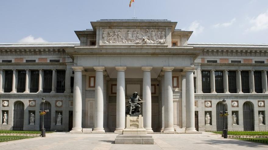 Vista exterior del Museo Nacional del Prado.