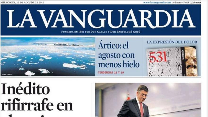 De las portadas del día (22/08/2012) #10