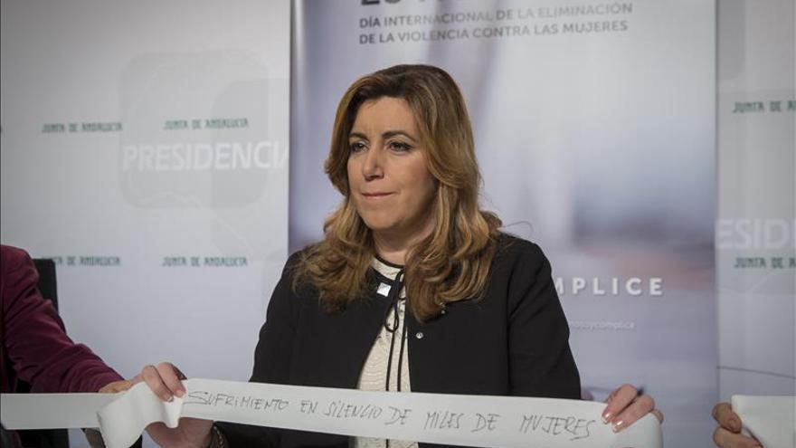 """Susana Díaz sobre Abengoa: """"Ahora toca a las entidades financieras implicarse"""""""