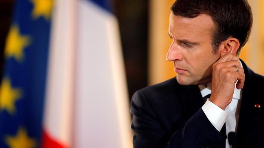 El FMI respalda las reformas de Macron, en especial la reducción del gasto